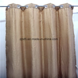 2018 Most Hot Gold Printing Curtain Fabric Hotel Decoration in Tongxiang