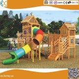 Backyard Wooden Outdoor Playground for Children