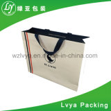 Height Quality Custom Logo Printed Clothing Carry Packaging Kraft Paper Shopping Bag with Handle