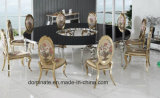 Modern S Shape Luxury Round Style Stainless Steel Wedding Table