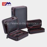 Wholesale Luxury 2 Slots Black PU Watch Packaging Box on Sale