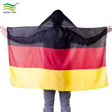 Economy Waterproof Cape Flags Sports Fans Body Flags with Hood