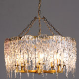 Custom Hotel Lighting Crystal Chandelier