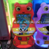 Frog Shaped Video Game Machine Plastic Body with Rotational Molded Factory for Amusement (SS-117)