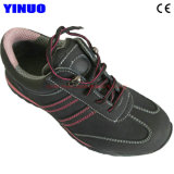 Fashion Style Leather Steel Toe Work Sport Safety Shoes