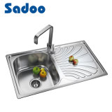 Single Kitchen Sink with Drainboard, Drain Board Sink SD-8008