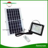 10W/20W/30W/50W Solar Powered Remote Control Flood Light for Outdoor Garden Security Lighting