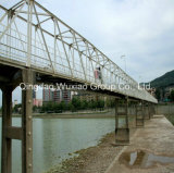 Professional Fabricated Galvanized Steel Bridge Framework
