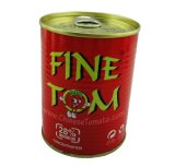 Fine Tom Brand Double Concentrate Tomato Sauce in Tins and Cans 400g