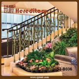Indoor Bronze Aluminum Balustrade for Staircase Railing (SJ-B036)