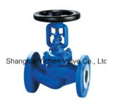 DIN Standard Cast Iron China Bellows Globe Valve (WJ41H)