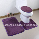 Colorful Shaggy and High Pile 3PCS Bath Mat Set