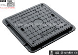 En124 B125 500X500 SMC Square Composite Manhole Cover (JM-MS220B C/O500X500)