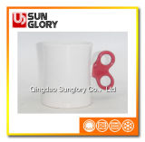 Glazed Porcelain Mug of Syb025