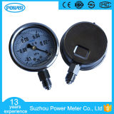 63mm Stainless Steel Vacuum Gauge with Glycerin or Silicone Oil