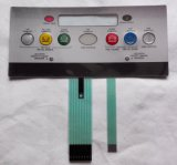 Customized Graphic Overlay Electrical Embossed Tactile Membrane Switch