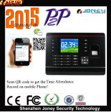 2015 New P2p RFID Card/Password/Fingerprint Time Attendance Built in Timing Bel