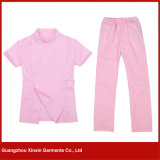 Professional Medical Scrubs Hospital Working Uniform of Cotton (H09)