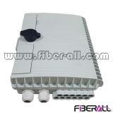 Outdoor Fiber Enclosure for 1X8 Lgx Fiber Optic PLC Splitter