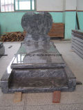 China Juparana Monument/Headstone/Tombstone of Cheap Wave Granite, Nagrobek Granite
