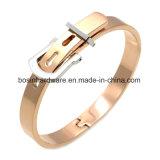 Creative Stainless Steel Belt Bracelet Bangle