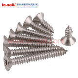 DIN Standarded Head Painted Hexagon Head Self-Drilling Screw for Wood