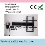Electric TV Lift 110-240V AC Input 500mm 20inch Stroke Linear Actuator Full Set with Remote and Controller and Mounting Parts