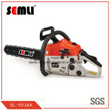 Garden Machine Gasoline Petrol Chain Saw for Cutting Wood