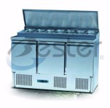 Commercial Refrigerator Counter for Sandwich at Coffee or Restaurant (GN1/1)