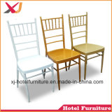 Cheap Aluminum/Steel/Acrylic Tiffany Chair for Banquet/Hotel/Outdoor Wedding