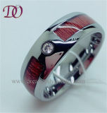 Zircon Stone Tungsten Ring with Stone