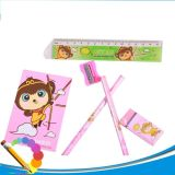 Stationery Colorful Painting Body Wooden Hb Pencils