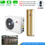 Extramely Cold -25c Winter Heating 400sq Meter Room 20kw Glycol Loop Cop4.65 Ground Source Geothermic Heat Pump Water Heater