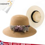 Ladies Summer New Bow Lace Fisherman Hat Outdoor Sun Visor Beach Hat Wholesale
