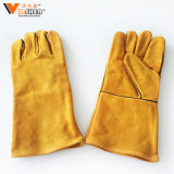 Nice Price China Working Industrial Waterproof Ce Cut Cow Split Chemical Resistant Gloves