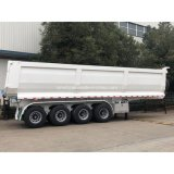 Cimc Hot Sale 4 Axle 60 Tons Rear Tipping Tipper Trailer Truck Tipper