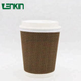 Delicate Ripple Wall Eco-Friendly Paper Cup for Coffee Tea
