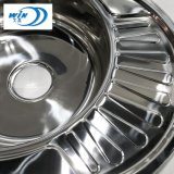 Building Material Small Single Stainless Steel Kitchen Basin for Wash Plates and Glass 570*450mm