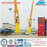 Liebherr FCC320 Container Handling Crane Fixed Cargo Crane Multi Purpose Floating Crane with Grab, Hook, Container Spreader