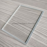 OEM Decorative Tempered Step Glass for LCD LED Lighting Lamp Shade