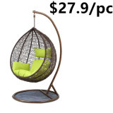 Wicker Patio Hammock Outdoor Rattan Garden Egg Hanging Swing Chair
