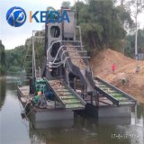China Chain Bucket Gold Sand Dredger Ships for Sale