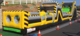 15X3m Commercial Inflatable Obstacle Course, Custom Make Inflatable Team Work Bulid Adults Sport Games