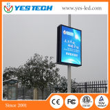 Street Light Video Advertising Outdoor Lamp Post LED Display Screen