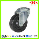 "3"" Hard Rubber Bolt Hole Industrial Caster Wheel (G106-53B075X32)"