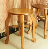 Solid Wooden Round Stool (M-X2112)