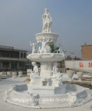 White Marble Stone Carving Statue/Sculpture for Garden