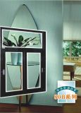 Powdercoat Colorful Aluminum Sliding Glass Window with Fly Screen Mosqutio Net