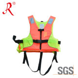 Children Inflatable Life Vest with Foam (QF-006)