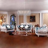 Living Room Furniture Sets with Classic Fabric Sofa (958)
